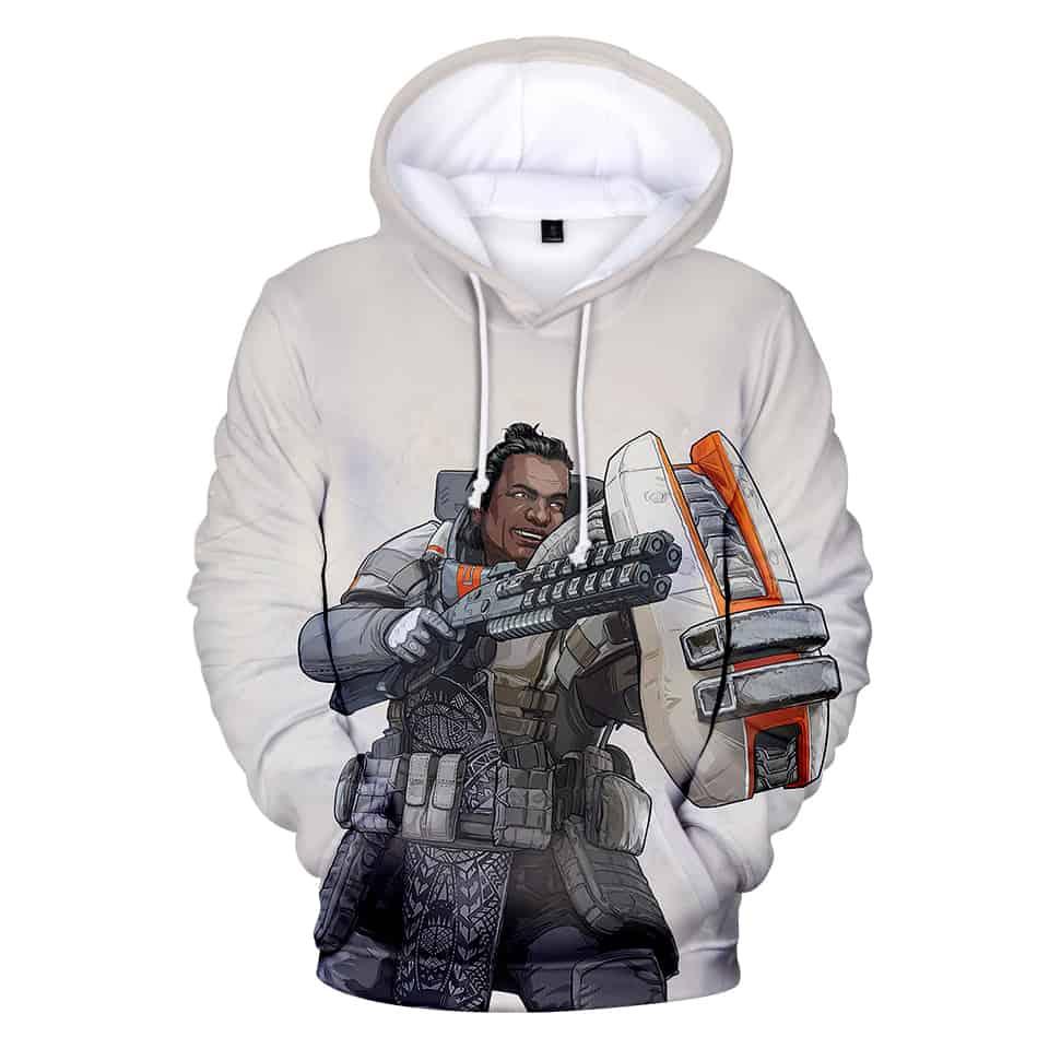 Chill Hoodies Gibraltar Apex Legends Hoodie Unisex Adult Children Apex Games Sweatshirt
