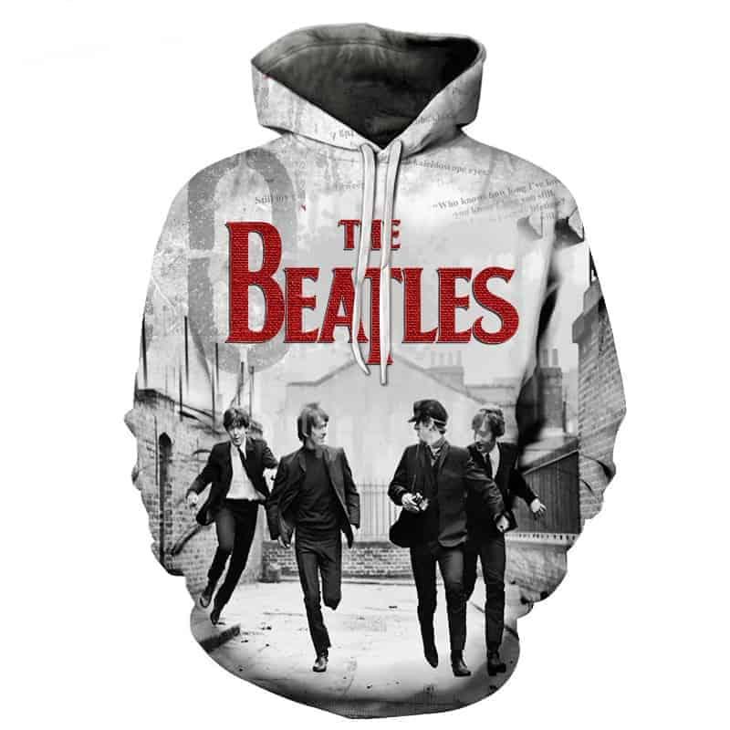 Chill Hoodies Classic Beatles Hoodie John Lennon Paul Mccartney Abbey Road Unisex Adult Children Liverpool Sweatshirt